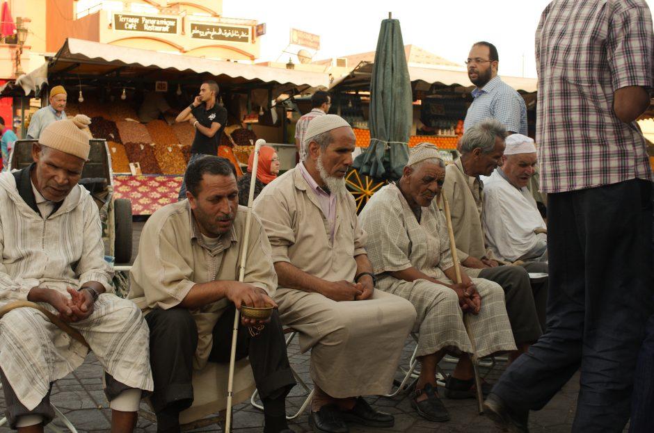 Blinde von Marrakesch