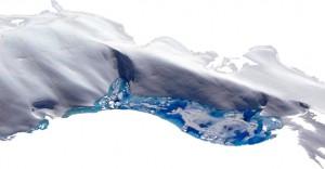 Gletschersee im Mt. McKinley, Alaska